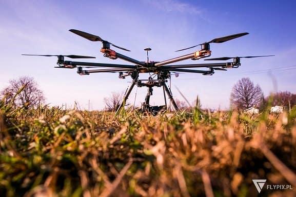 fotografie z drona