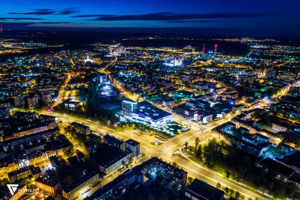 filmowanie z drona Warszawa