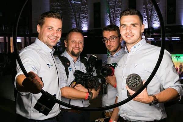 Nasz zespół, który wykonuje zdjęcia i filmy z drona