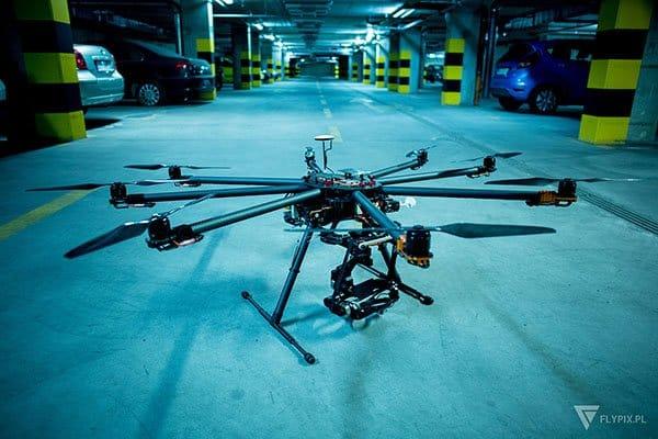 filmowanie dronem Gdańsk