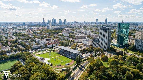 usługi dronem Warszawa
