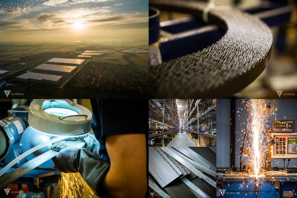 sesja zdjęciowa fabryki Lenox