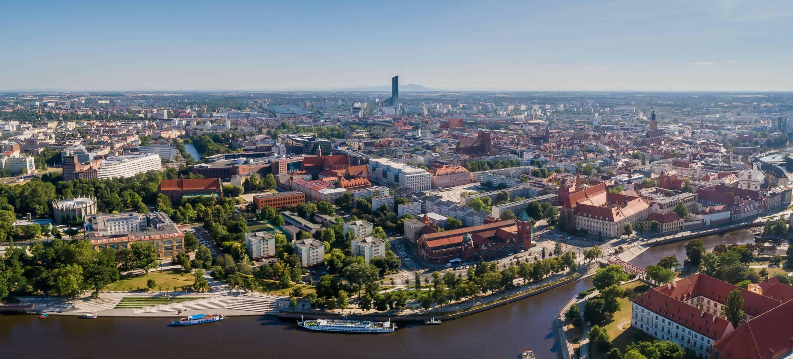Zdjęcia z drona Wrocław