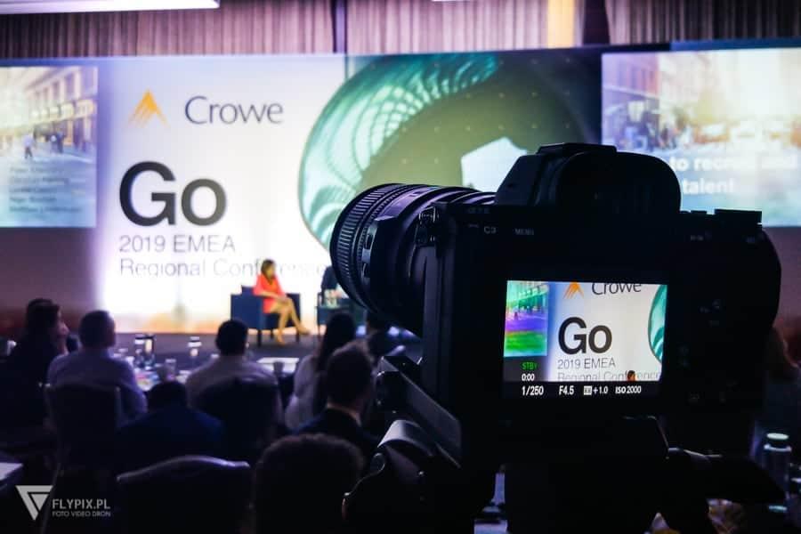 filmowanie konferencji