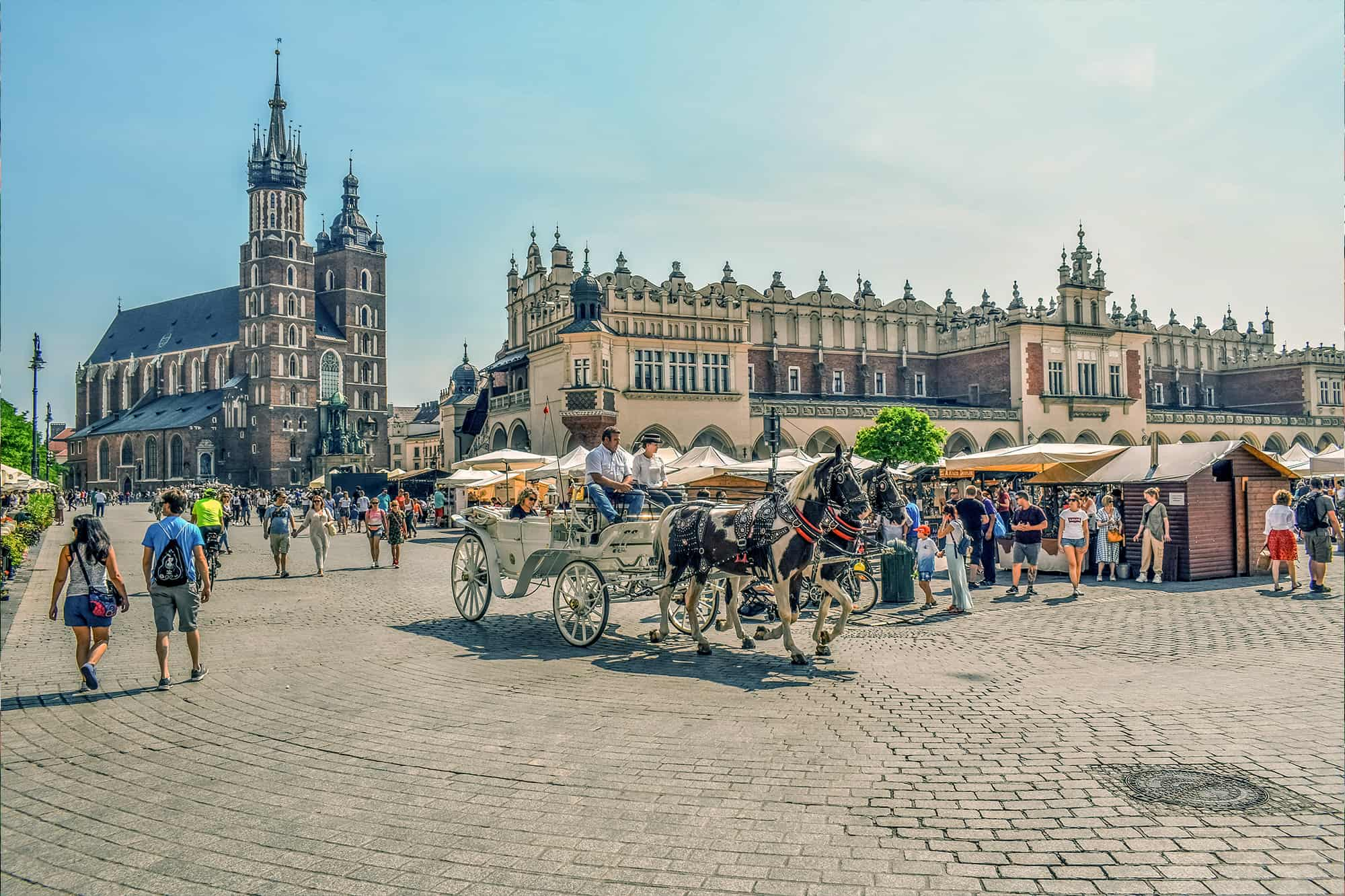 Zdjęcia z drona Kraków