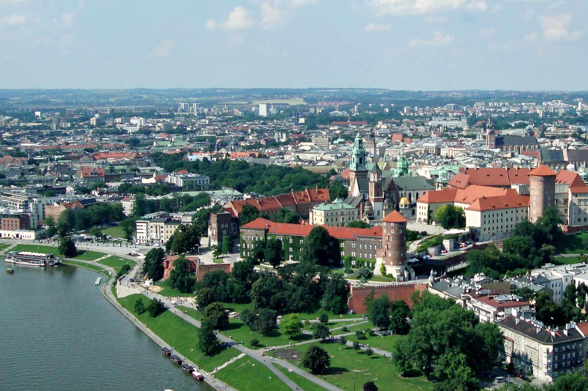 filmowanie dronem Kraków